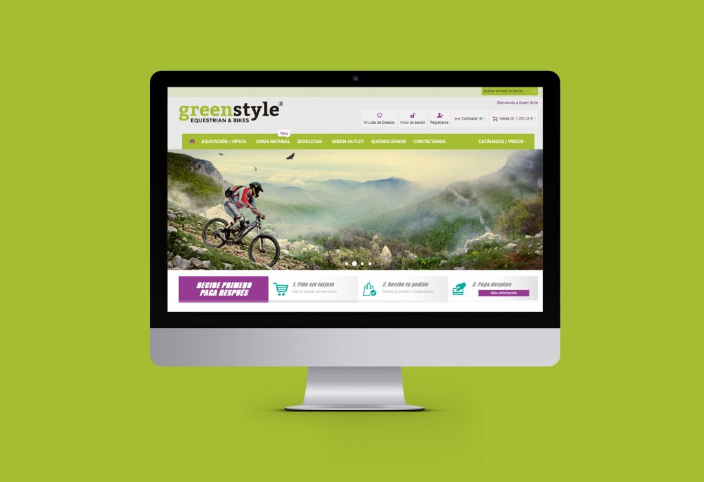 Green Style ecommerce Magento