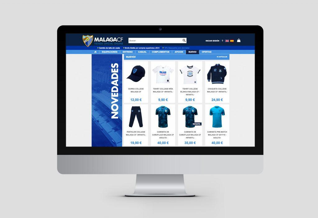 Tienda online oficial Malaga